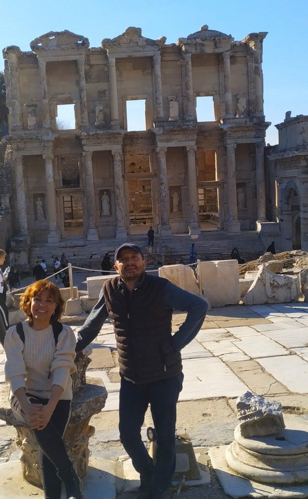 Ephesus Centrum Owners Mehmet and Handan Danisan